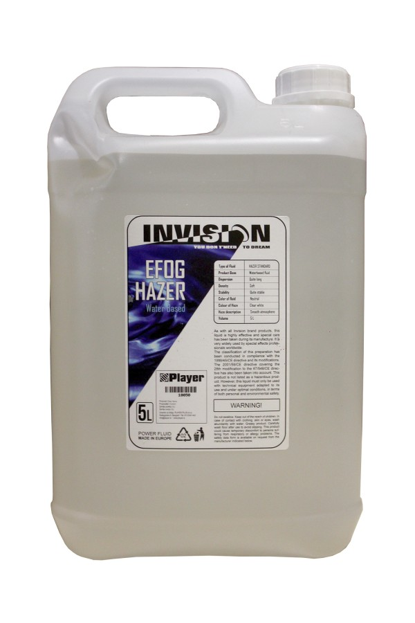 INVISION HAZER FLUID (Water based)