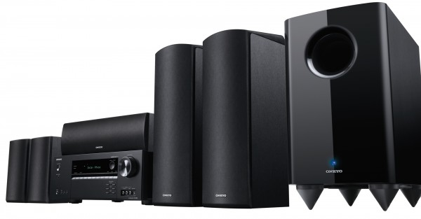 ONKYO HT-S5805 Black 5.1.2 Channel Home Theatre System w/ Dolby Atmos