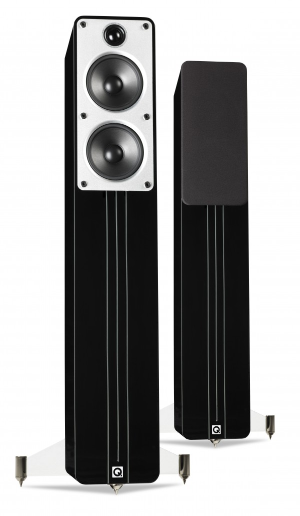 Q ACOUSTICS Concept 40 Speakers Black