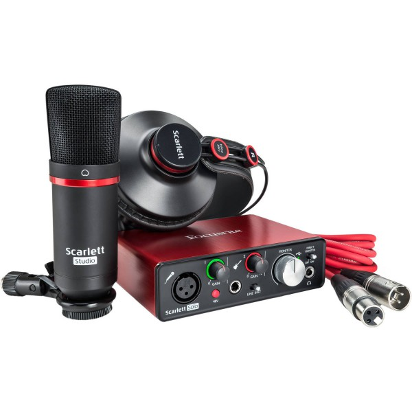 FOCUSRITE SOLO STUDIO 2nd Gen