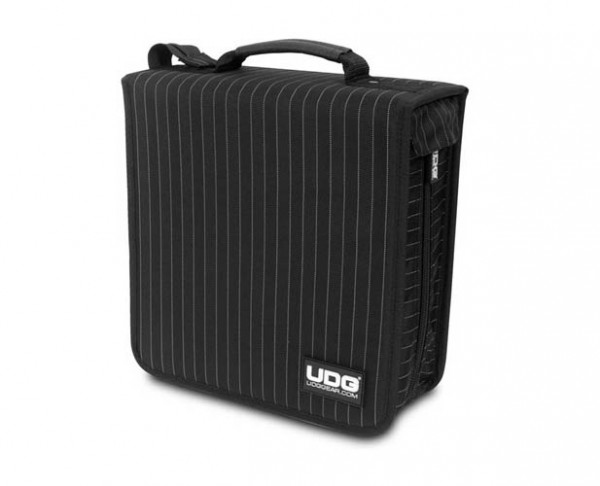 UDG CD Wallet 280 Black/Grey Stripe