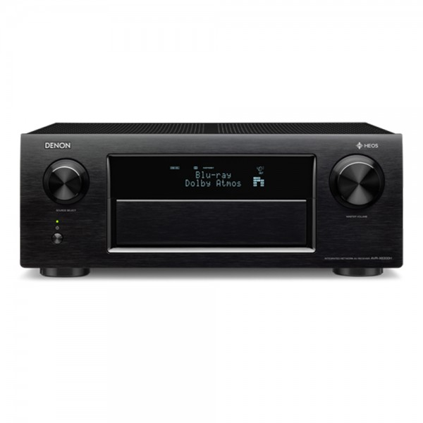 DENON AVR X6300H Black 11.2 Channel AV Receiver w/ HEOS Music Streaming