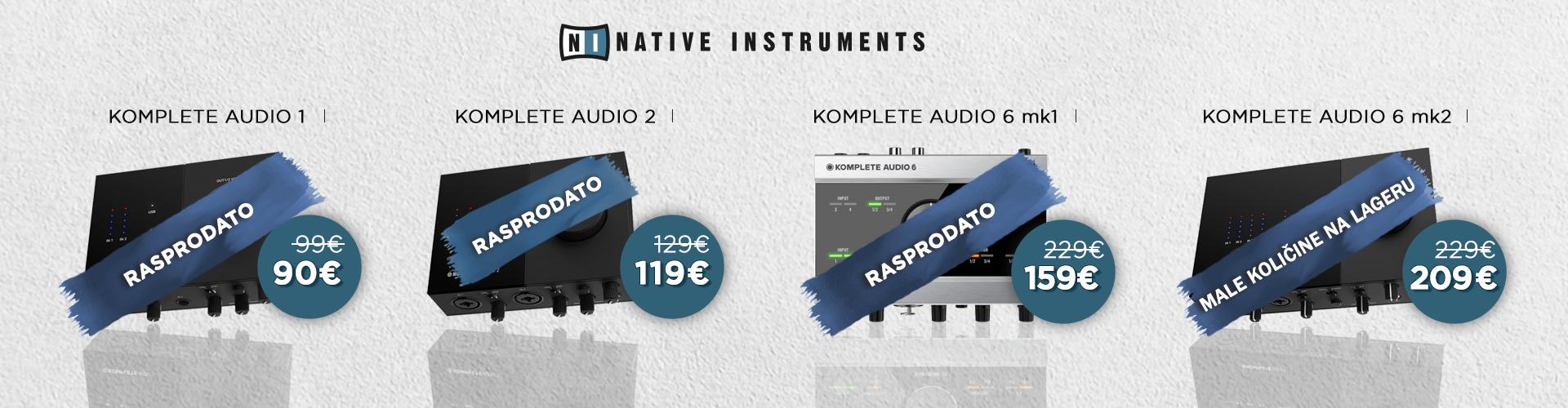 Native Instruments Komplete Audio