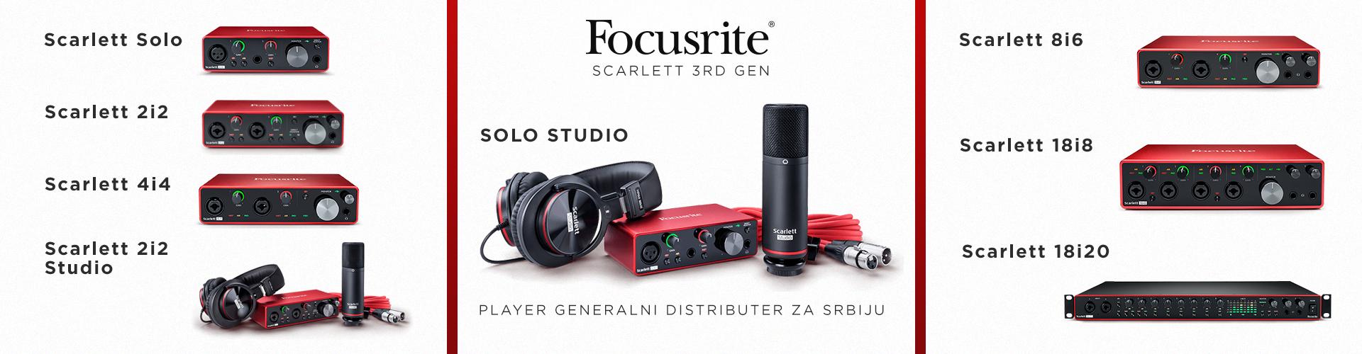 Focusrite 3rd Gen